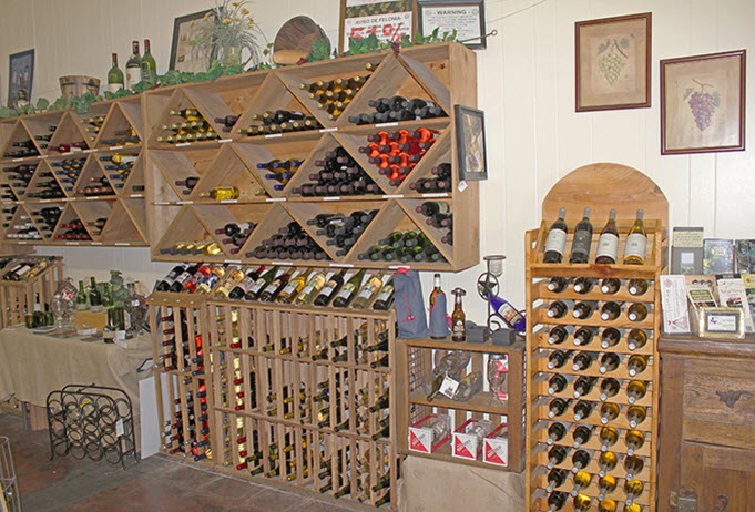 Texas Wine Cellars Wine Rack